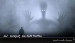 Jenis Hantu yang Harus Anda Waspadai