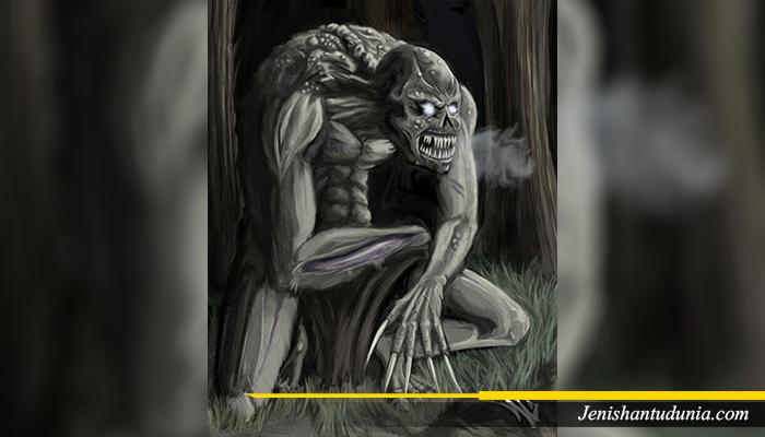 Legenda HAntu Ghoul
