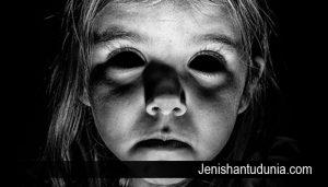 apakah anak kecil dapat melihat hantu