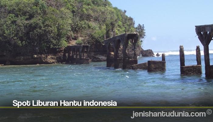 Spot Liburan Hantu indonesia